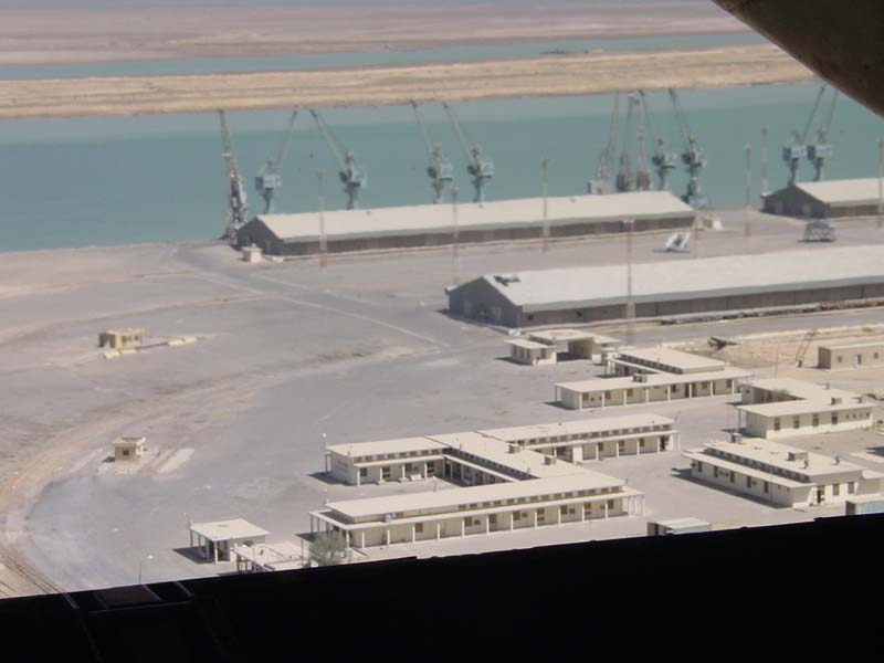 View of Umm Qasr Port